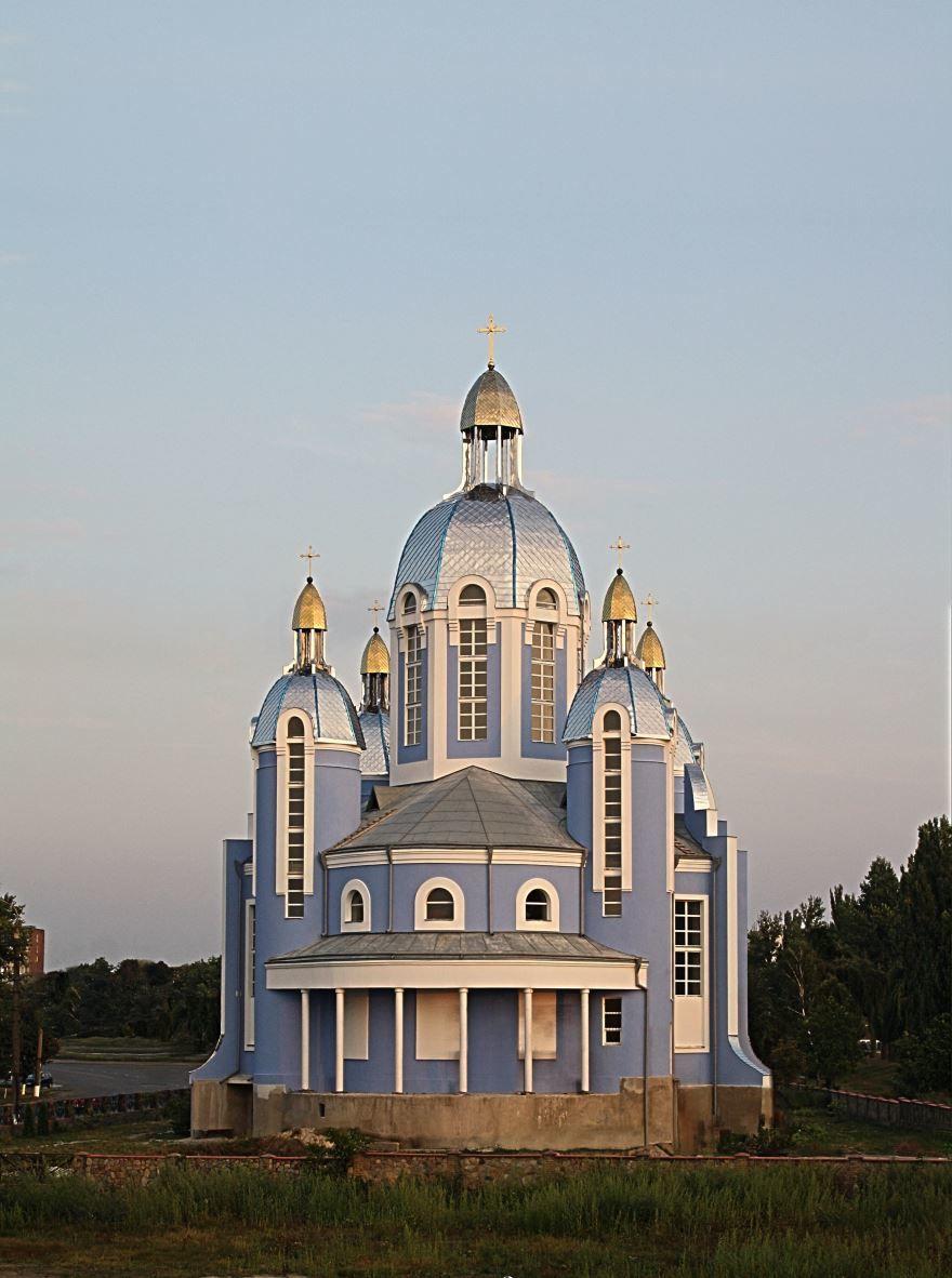 Греко католическая церковь город Винница