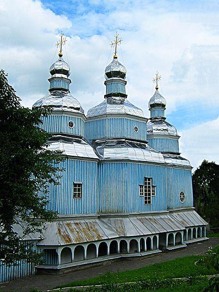 Николаевская церковь 1746 года город Винница