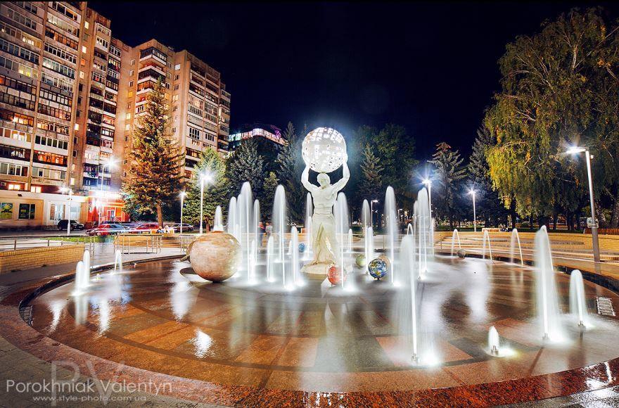 Проспект космонавтов город Винница