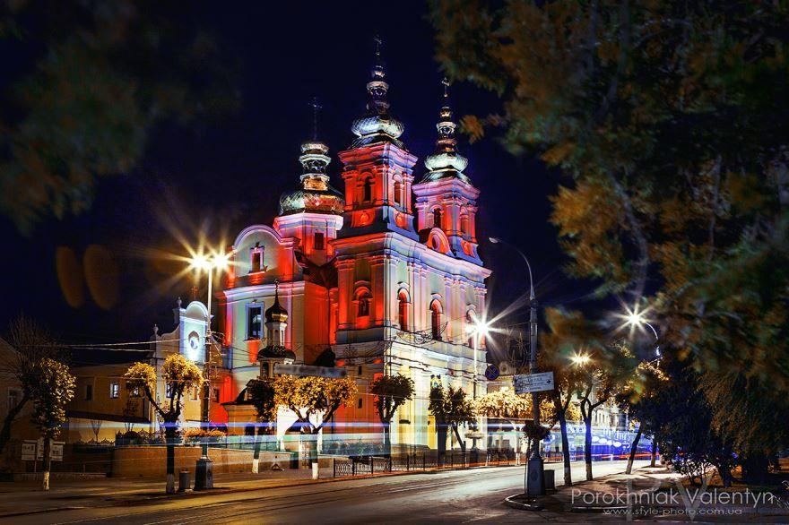 Свято Преображенский кафедральный собор город Винница