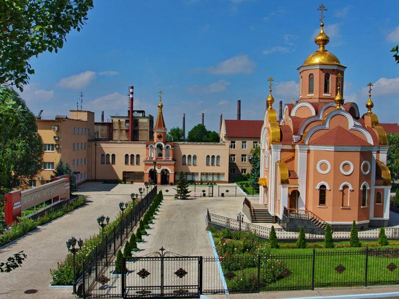 Церковь Святого Милаила город Макеевка Украина