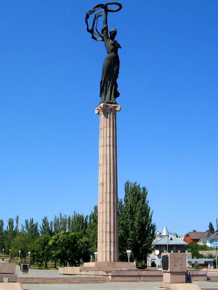 Монумент Победы город Херсон