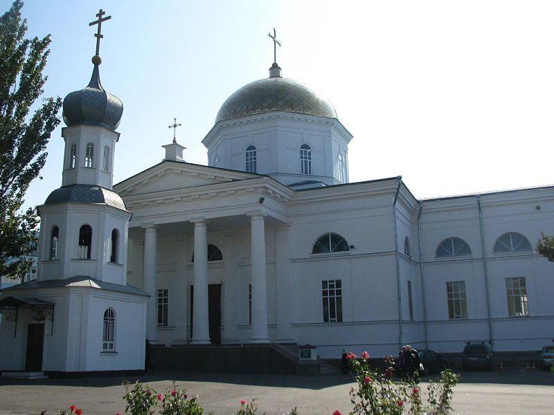 Святодуховский собор город Херсон