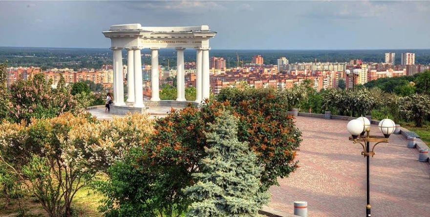 Смотреть красивое фото город Полтава день Украина