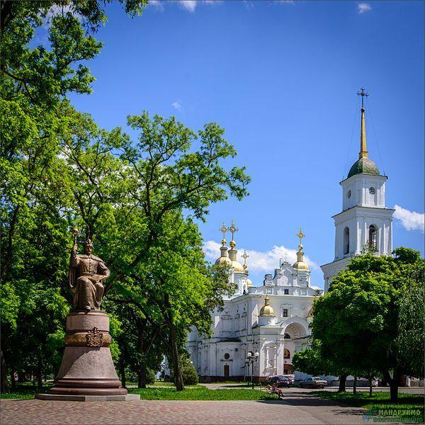 Памятник Ивану Мазеле город Полтава