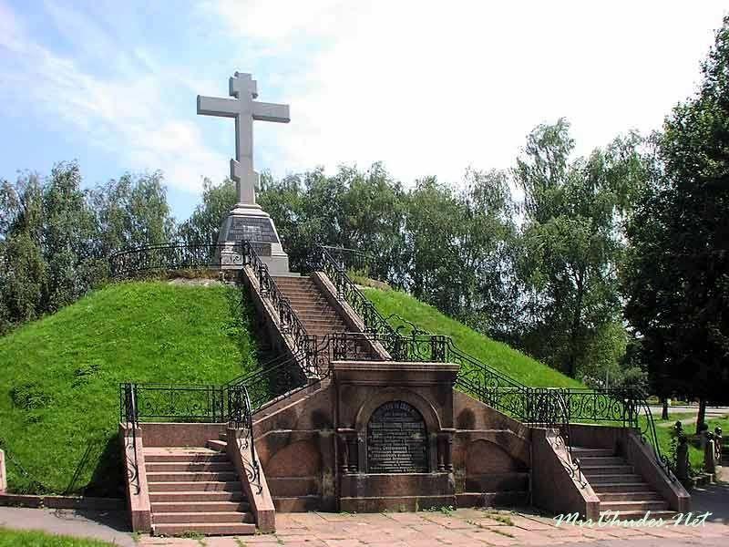 Поле Полтавской битвы город Полтава