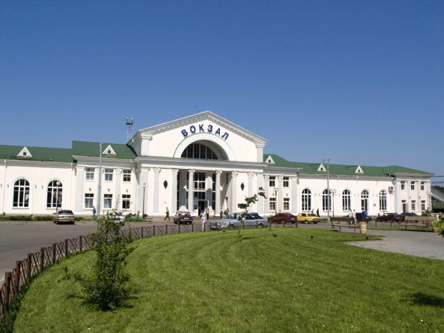 Железнодорожный вокзал город Полтава 2019