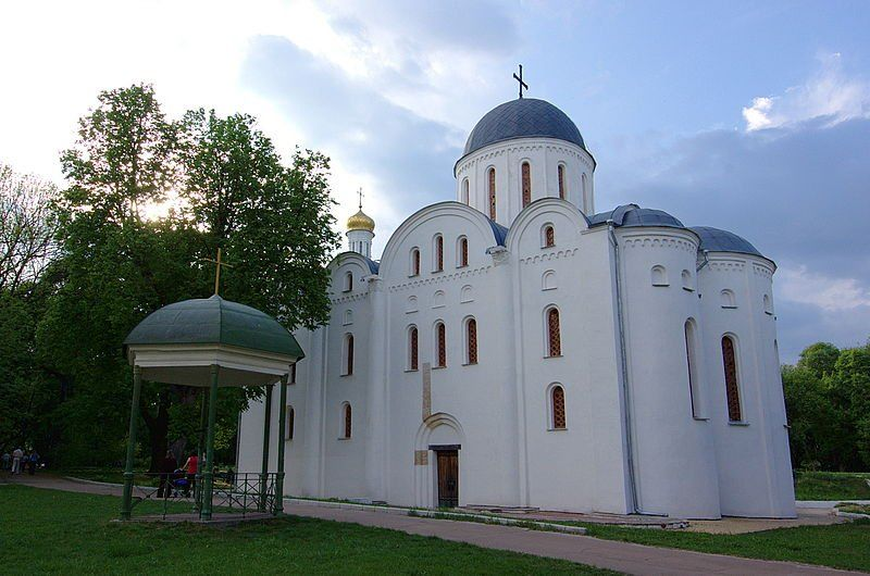 Борисоглебский собор город Чернигов Украина
