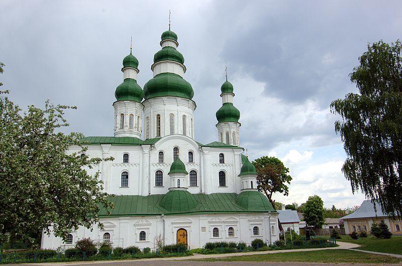 Успенский собор Елецкого Успенского монастыря город Чернигов