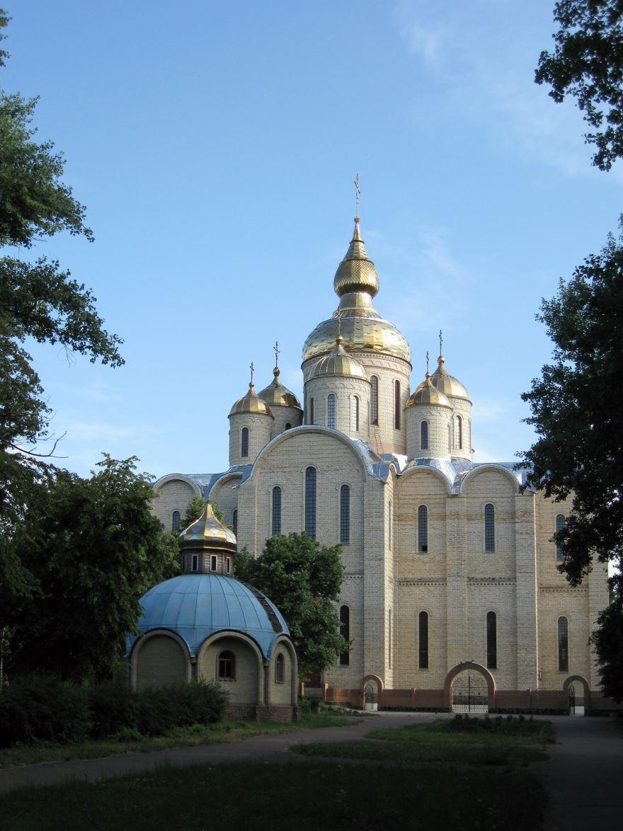 Михайловский кафедральный собор город Черкассы