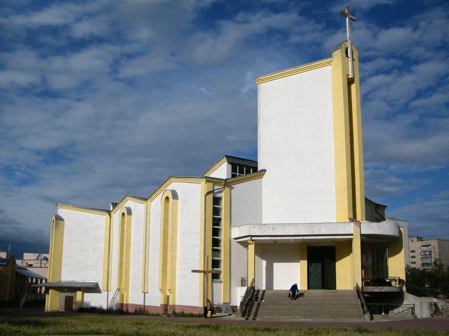 Костел Крови Христа город Хмельницкий Украина