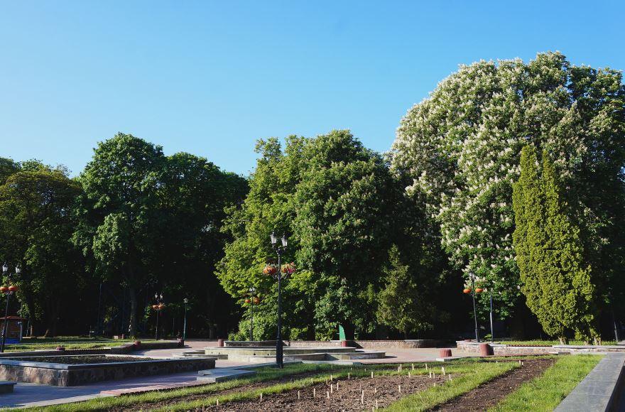 Парк имени Шевченко город Хмельницкий