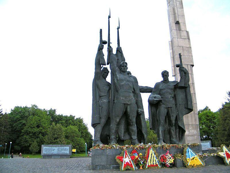 Мемориал Великой Отечественной войны город Хмельницкий