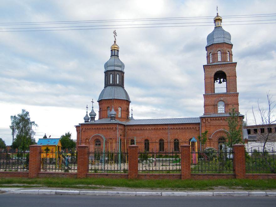 Свято Георгиевский храм город Хмельницкий