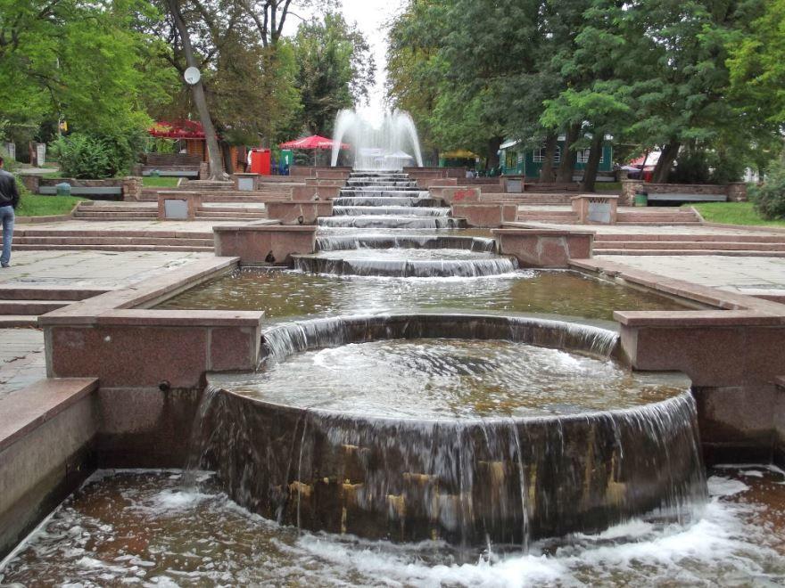 Смотреть красивое фото парк Гагарина город Житомир