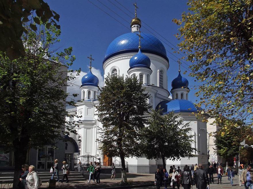 Свято Михайловский собор город Житомир