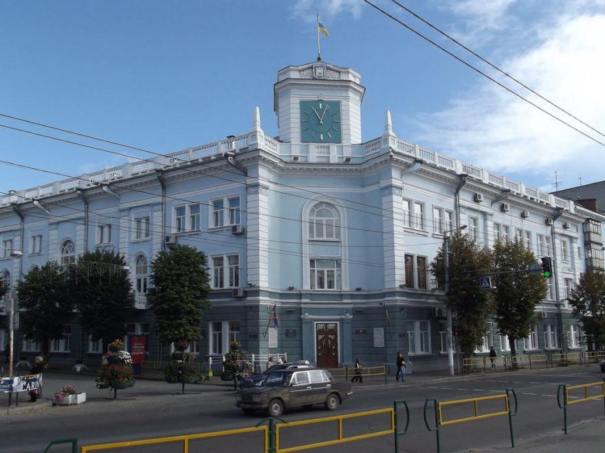 Здание городского совета город Житомир