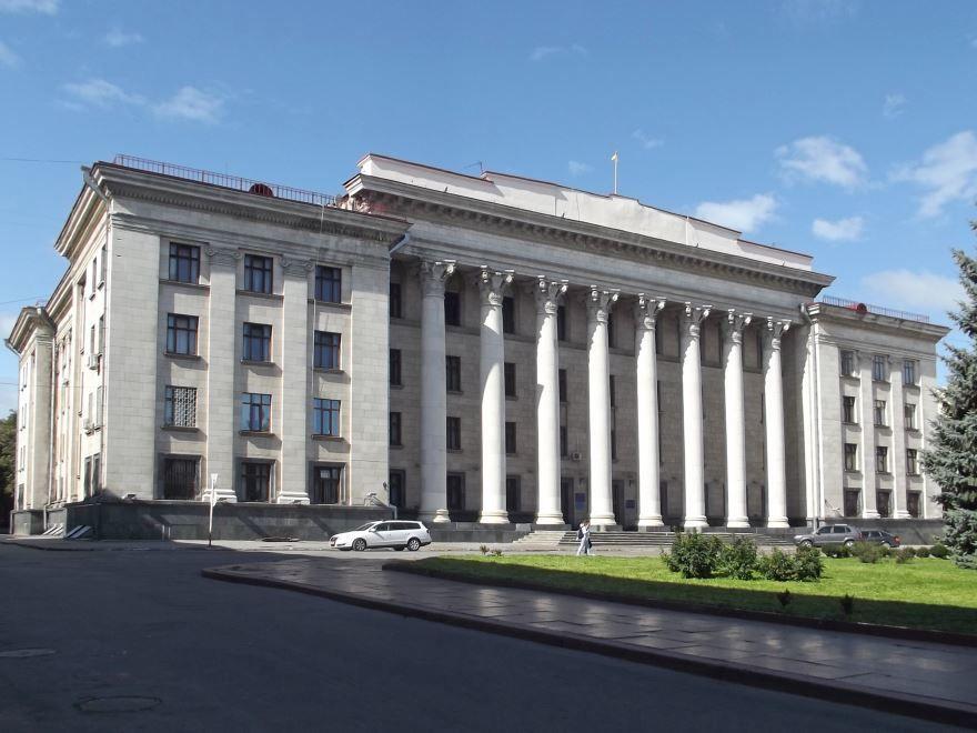 Здание областного суда город Житомир