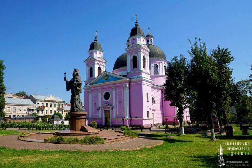 Кафедральный собор Святого Духа город Черновцы