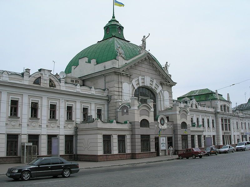 Железнодорожный вокзал город Черновцы 2019