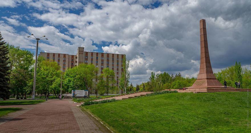 Обелиск город Горловка