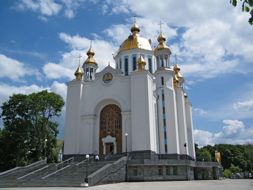 Смотреть красивое фото Покровский собор город Ровно в хорошем качестве