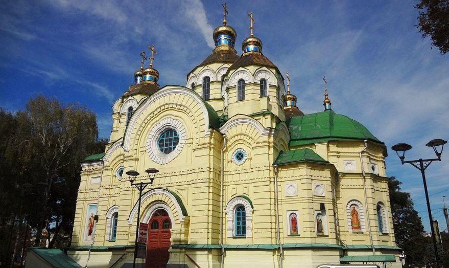 Воскресенский собор город Ровно