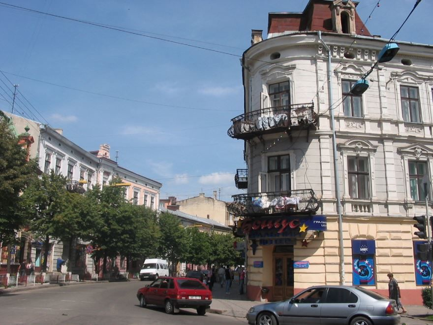 Улица города Ивано Франковск