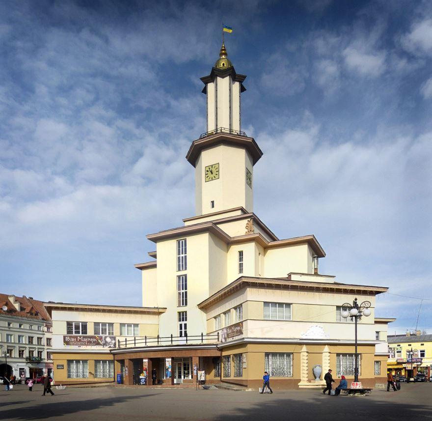 Ратуша город Ивано Франковск