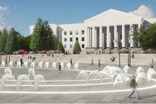 Площадь город Краматорск