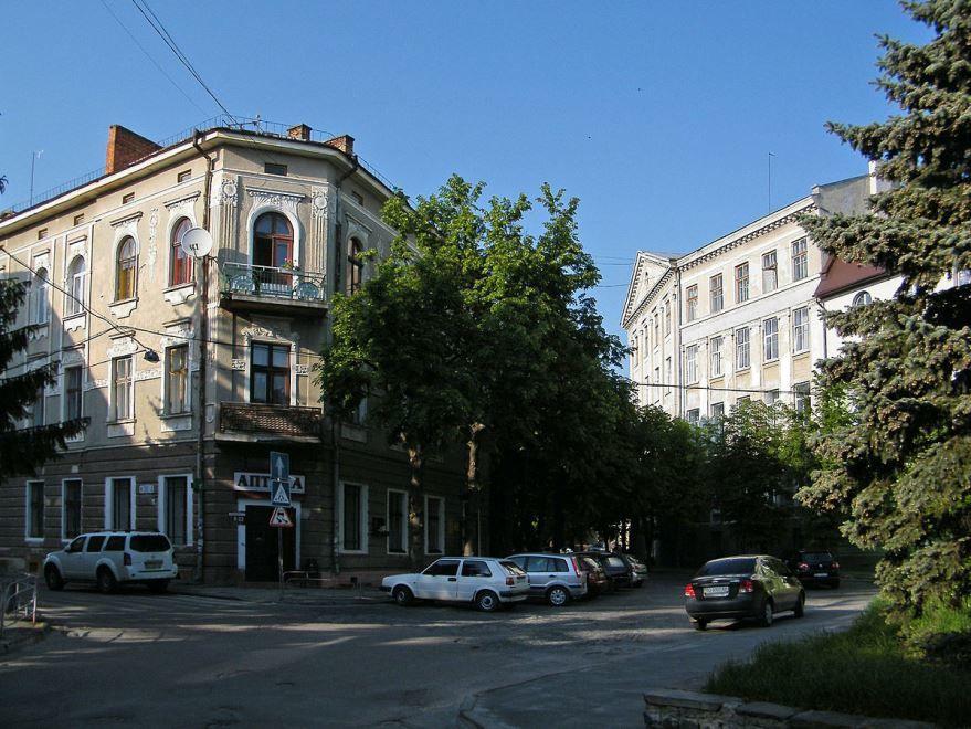 Улица город Тернополь