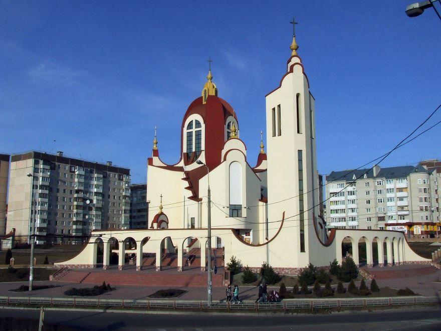 Церковь Святого Апостола Петра город Тернополь