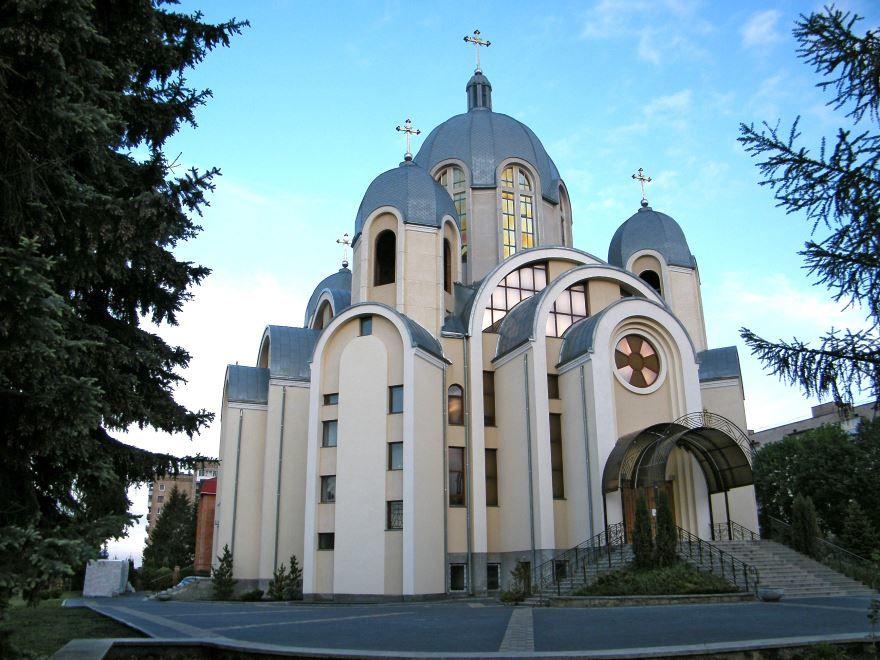 Храм Матери Божьей Неустанной Помощи город Тернополь