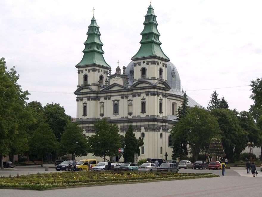Костел доминиканцев город Тернополь