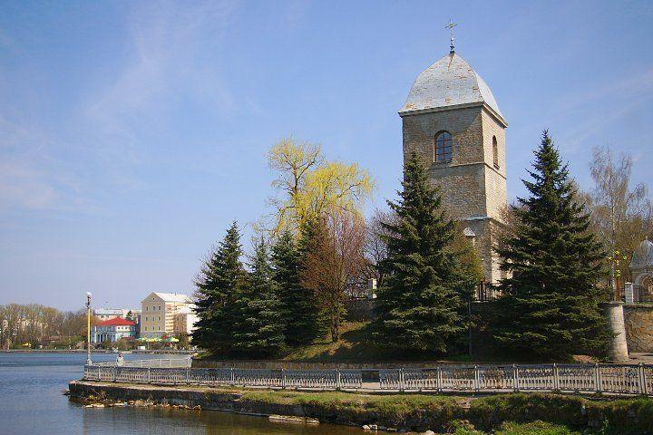 Воздвиженская церковь город Тернополь