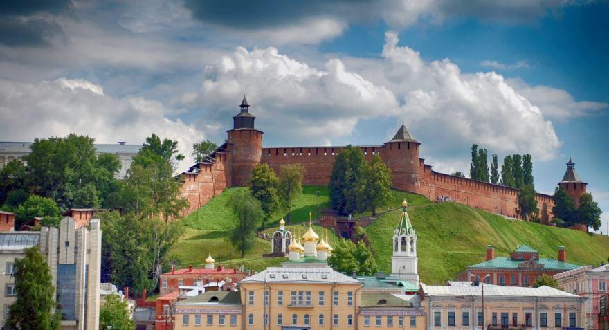 Крупные города центральной России Нижний Новгород