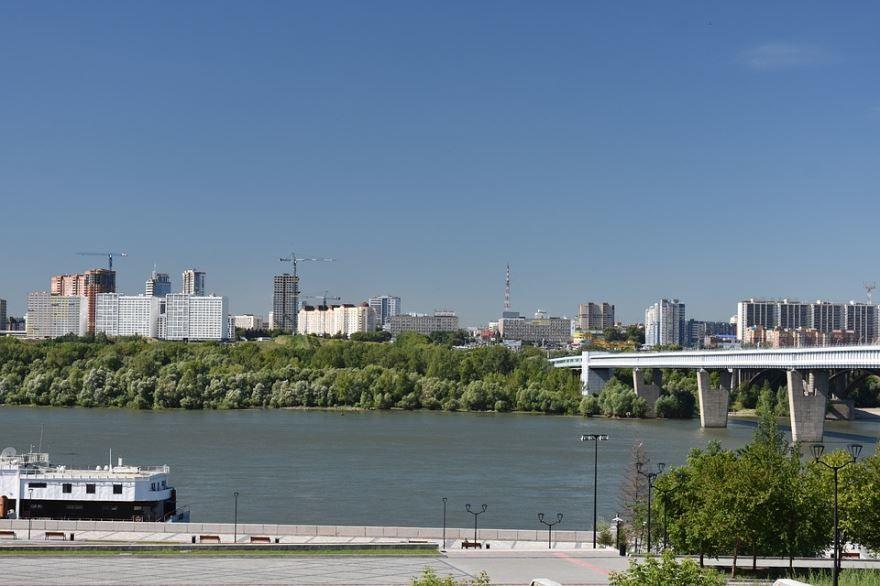 Крупнейшие города России по численности город Новосибирск