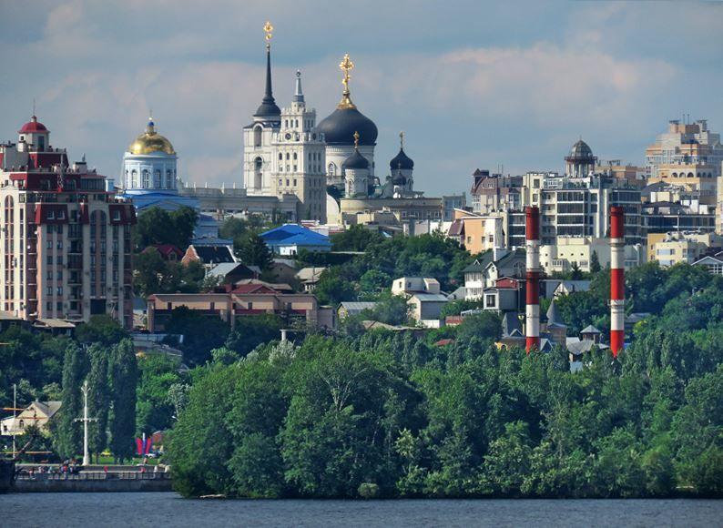 Какие кпупнейшие города России Воронеж