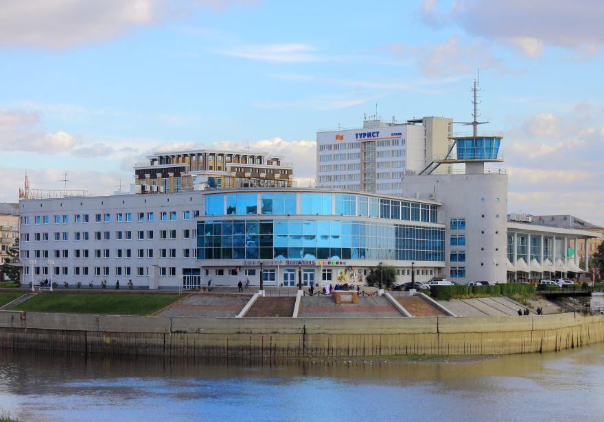 Крупные региональные города России город Омск
