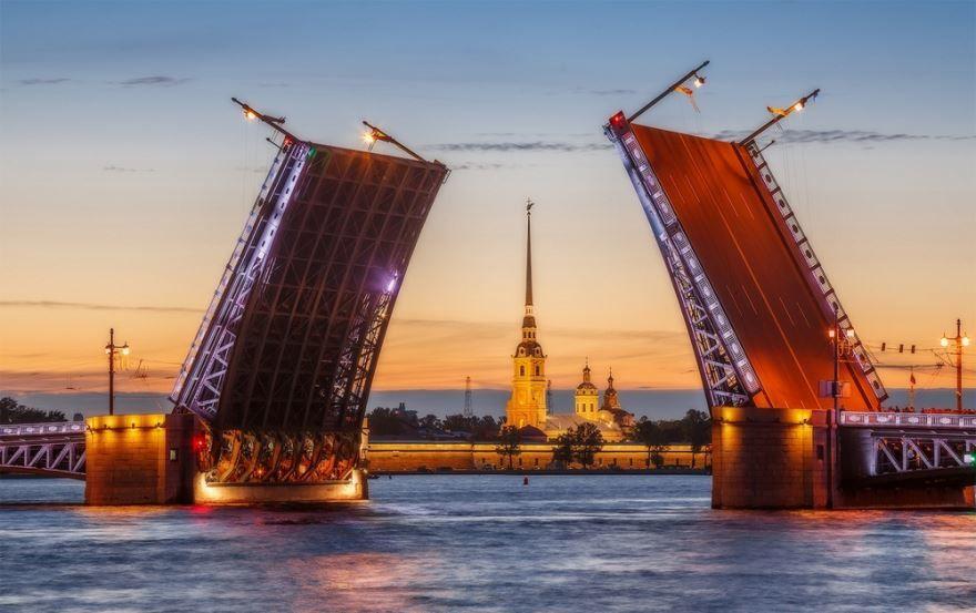 Топ самых крупных городов России по населению город Санкт Петербург