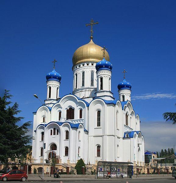 Кирилло Мефодиевский православный собор город Ужгород