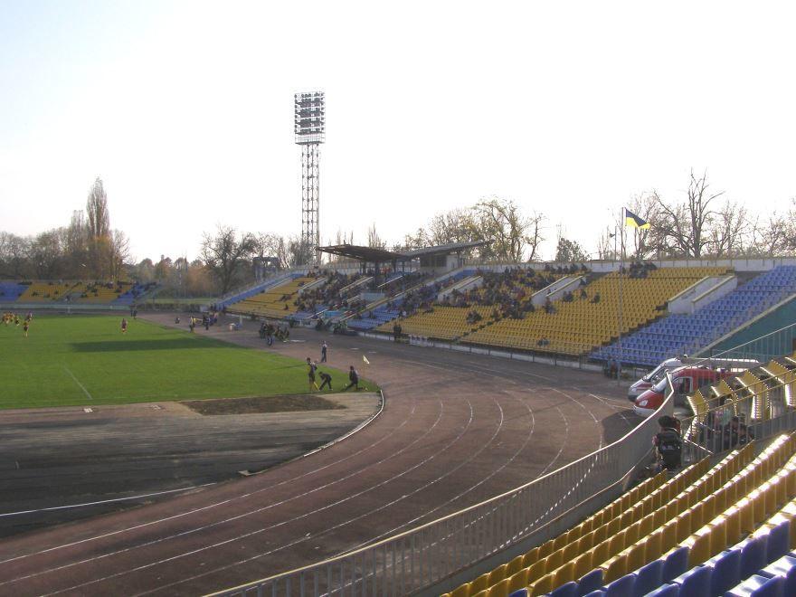 Стадион Авангард город Ужгород