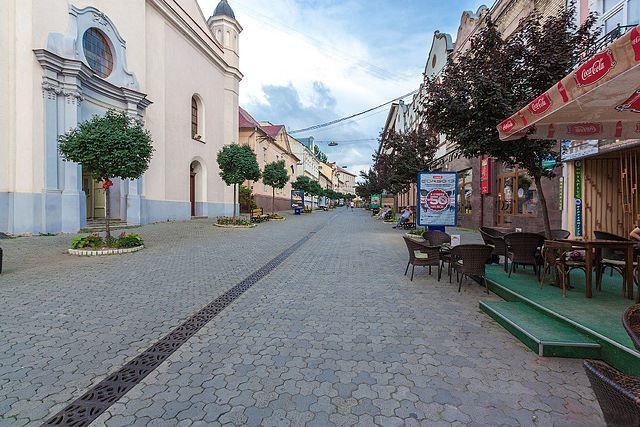 Улица Волошина город Ужгород
