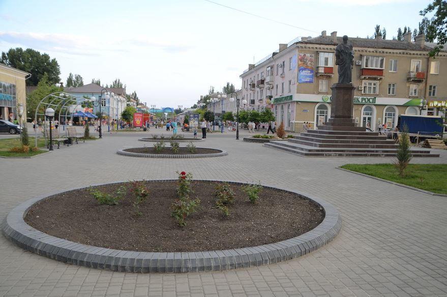 Смотреть красивое фото город Бердянск 2019 Украина