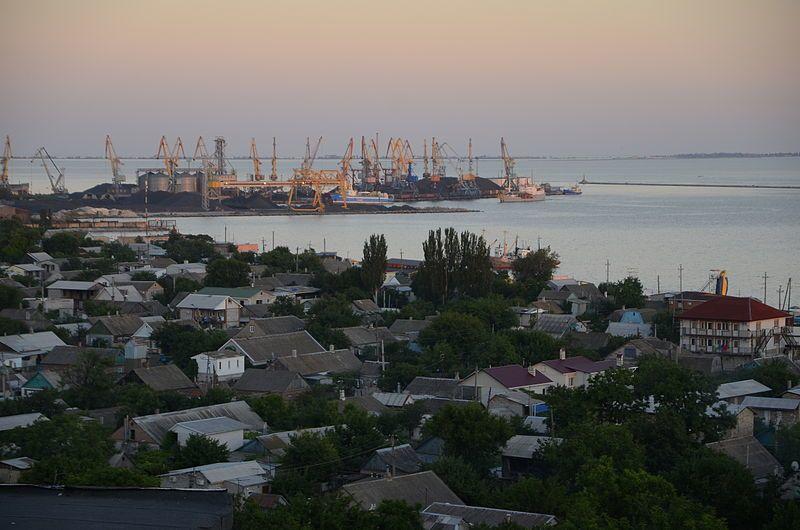 Порт город Бердянск