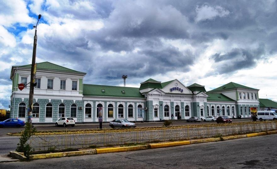 Железнодорожный вокзал город Бердянск 2019