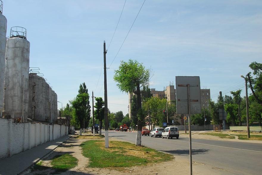 Новый район города Мелитополь