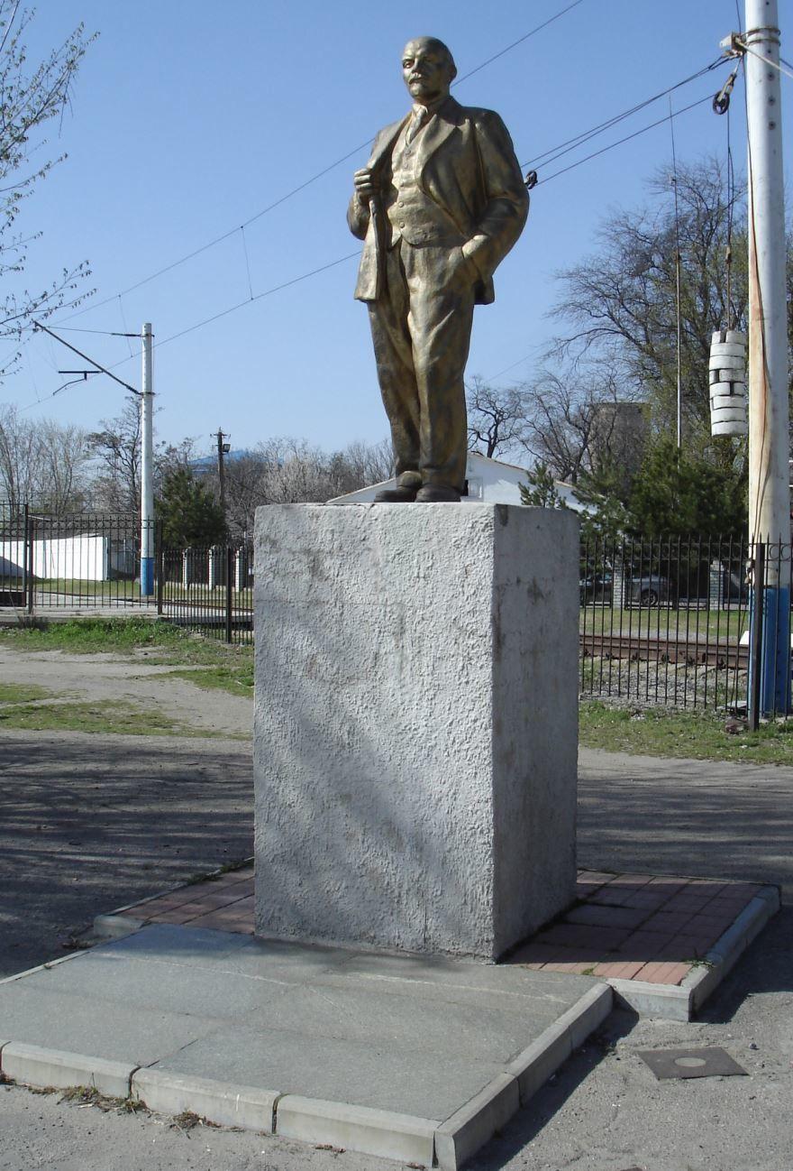 Памятник Ленину город Мелитополь