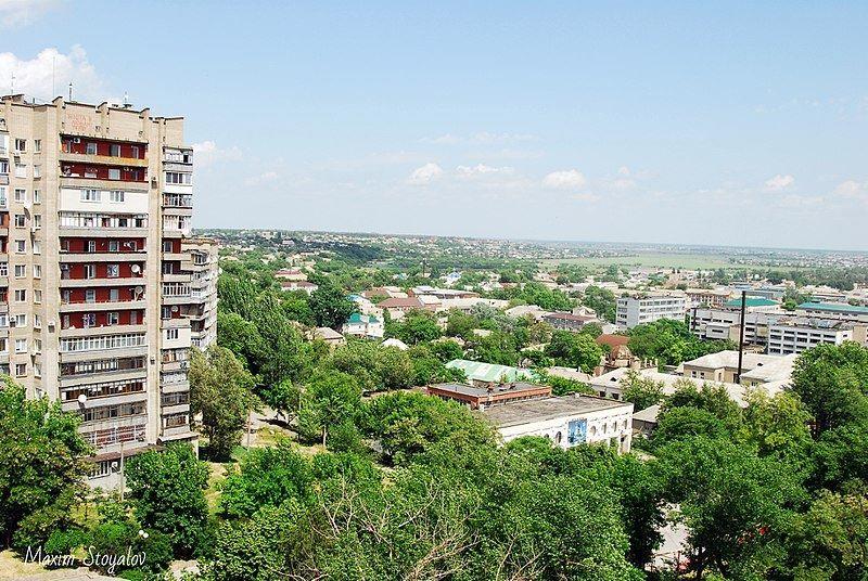 Скачать онлайн бесплатно лучшее фото вид на город Мелитополь в хорошем качестве