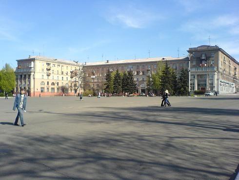 Скачать онлайн бесплатно лучшее фото площадь Ленина город Алчевск в хорошем качестве